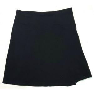 Smartwool Womens Ferndale Black Skirt Size Medium